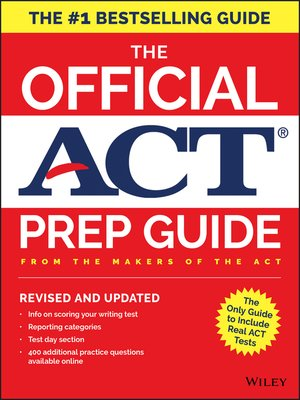 cover image of The Official ACT Prep Guide, 2018