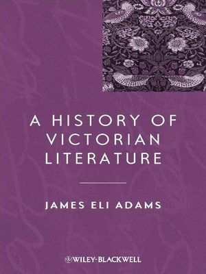 cover image of A History of Victorian Literature