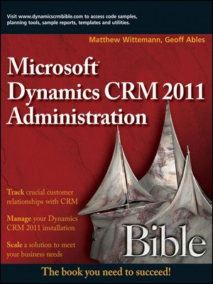Working With Microsoft Dynamics Crm 2011 Ebook