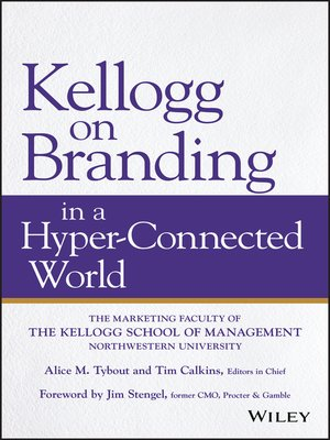 cover image of Kellogg on Branding in a Hyper-Connected World