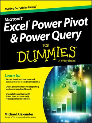 cover image of Excel Power Query & PowerPivot for Dummies