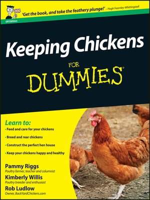 cover image of Keeping Chickens For Dummies
