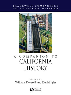 cover image of A Companion to California History