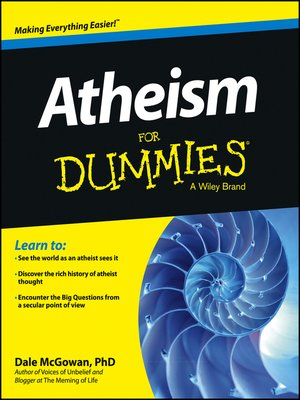 cover image of Atheism For Dummies