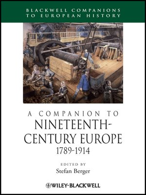 cover image of A Companion to Nineteenth-Century Europe