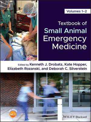cover image of Textbook of Small Animal Emergency Medicine