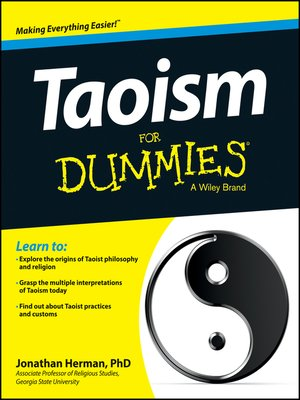cover image of Taoism For Dummies