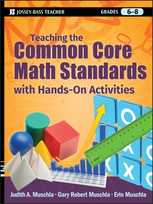 cover image of Teaching the Common Core Math Standards with Hands-On Activities, Grades 6-8
