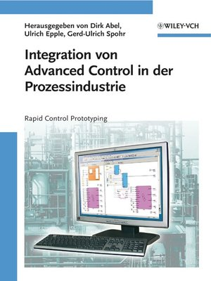 cover image of Integration von Advanced Control in der Prozessindustrie