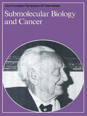 cover image of Submolecular Biology and Cancer