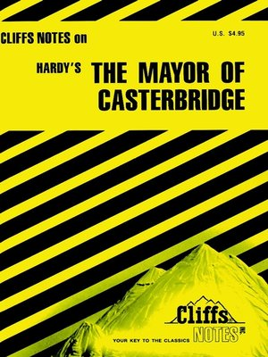 cover image of CliffsNotes on Hardy's The Mayor of Casterbridge
