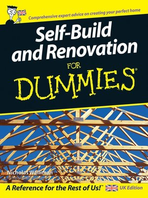 cover image of Self Build and Renovation For Dummies
