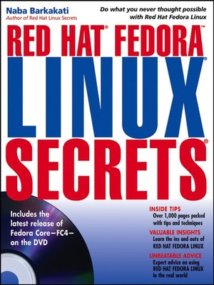 cover image of Red Hat Fedora Linux Secrets