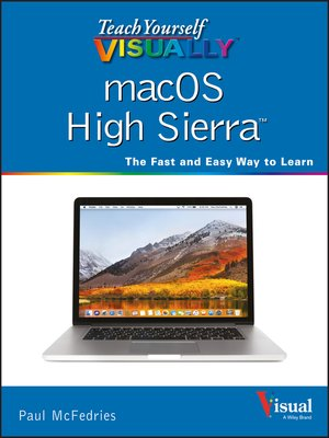 cover image of Teach Yourself VISUALLY macOS High Sierra