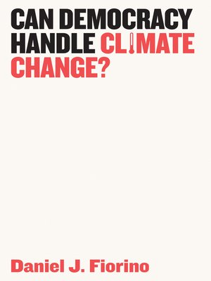 cover image of Can Democracy Handle Climate Change?
