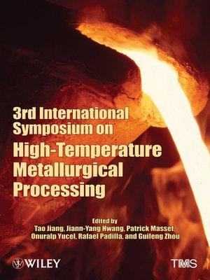 cover image of 3rd International Symposium on High Temperature Metallurgical Processing