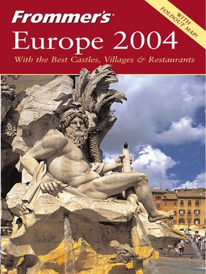 cover image of Frommer's Europe 2004