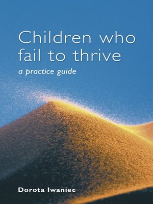 cover image of Children who Fail to Thrive