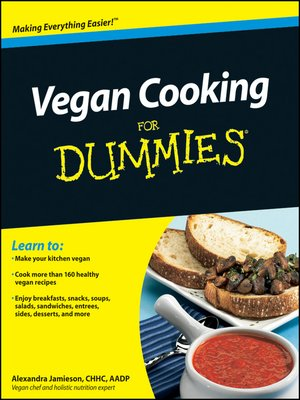 cover image of Vegan Cooking For Dummies