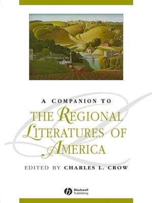 cover image of A Companion to the Regional Literatures of America