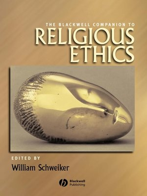 cover image of The Blackwell Companion to Religious Ethics