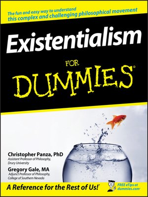 cover image of Existentialism For Dummies®