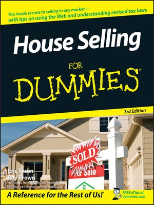 cover image of House Selling For Dummies