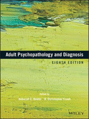 cover image of Adult Psychopathology and Diagnosis