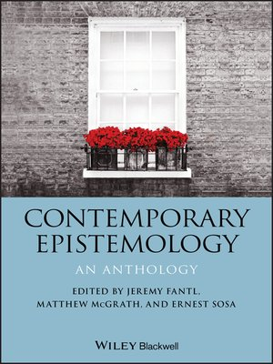 cover image of Contemporary Epistemology
