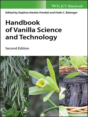 cover image of Handbook of Vanilla Science and Technology