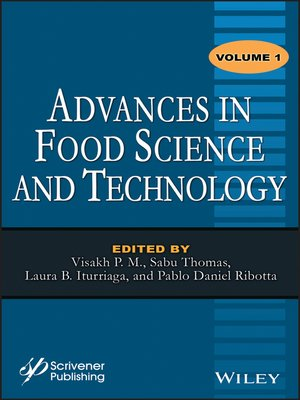 cover image of Advances in Food Science and Technology, Volume 1