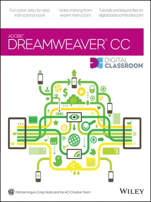 cover image of Dreamweaver CC Digital Classroom