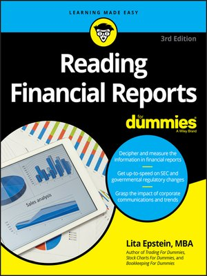 cover image of Reading Financial Reports For Dummies