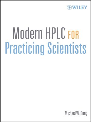 cover image of Modern HPLC for Practicing Scientists