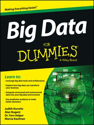 cover image of Big Data For Dummies