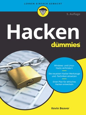 cover image of Hacken für Dummies