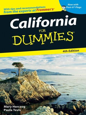cover image of California For Dummies