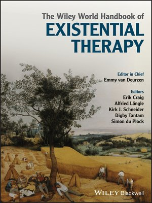 cover image of The Wiley World Handbook of Existential Therapy