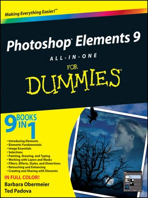 cover image of Photoshop Elements 9 All-in-One For Dummies
