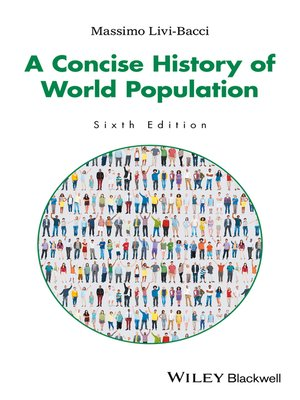 cover image of A Concise History of World Population
