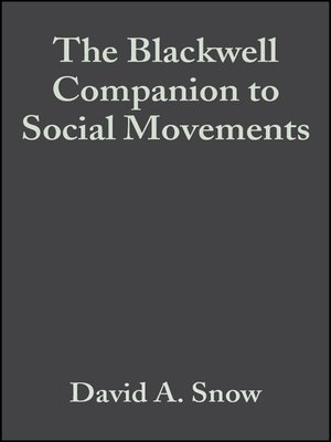 cover image of The Blackwell Companion to Social Movements