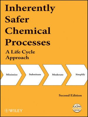 cover image of Inherently Safer Chemical Processes