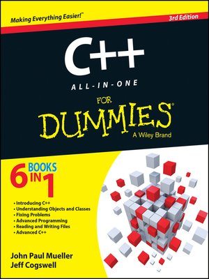 cover image of C++ All-in-One For Dummies