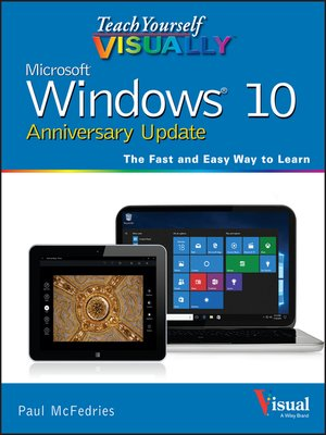 cover image of Teach Yourself VISUALLY Windows 10 Anniversary Update
