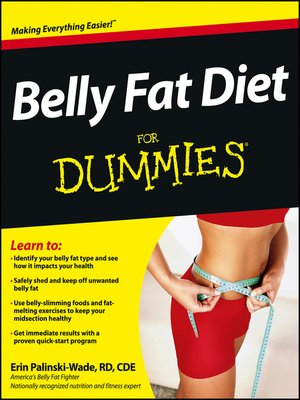 cover image of Belly Fat Diet For Dummies