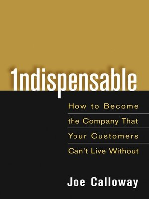 cover image of Indispensable