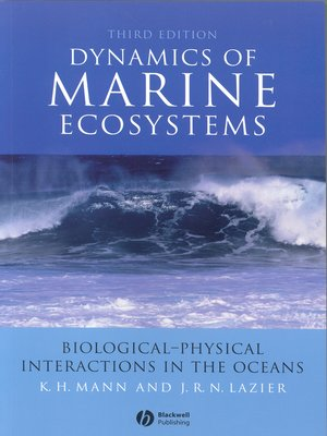 cover image of Dynamics of Marine Ecosystems