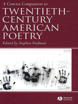cover image of A Concise Companion to Twentieth-Century American Poetry