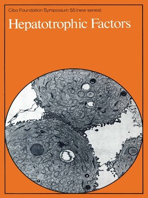 cover image of Hepatotrophic Factors
