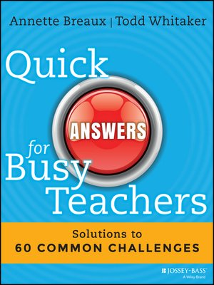 cover image of Quick Answers for Busy Teachers